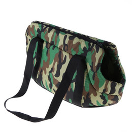Wholesale Dog Backpack Large - Supplies Carriers Bags Portable Pet Carrier Dog Backpack Outdoor Camo Print Slings Pet Bag Dog Puppy Travel Carrier Bag Chihuahua