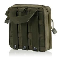 Аксессуары для пеших прогулок онлайн-Открытый multi-tool kit аксессуары сумка для хранения стиральная и отделка пакет туризм рюкзак висит суб-пакет