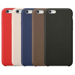 Wholesale Cloth Cases - Leather Case Business Retro Style Business Slim PU Shock Microfiber Hard Lining Cloth Cushion Cover Case for Apple iPhone X 8 Plus 7 6 6S 5S
