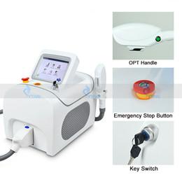 Wholesale New Ipl Machines - 2018 New IPL skin rejuvenation machine laser epilator e light IPL hair remover acne removal machine spa salon use