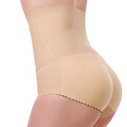 196f757db6c BONJEAN Padded panty High Waist Briefs sexy Charming Women slim underwear  bottom hip up briefs Butt Enhancer body shaper panties