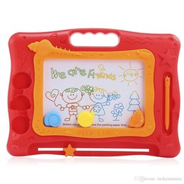 Wholesale Magic Tablet - Kids Magic Draw Sketch Tablet Board Toy Christmas Present with Pen Educational Toy Drawing Tablet Writing Board Puzzle Magic Color Pen