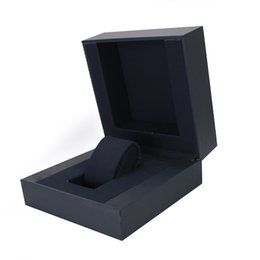 Wholesale Packaging Boxes For Sale - factory hot sale free shipping cheap black packaging box small empty plastic watch gift boxes for sale