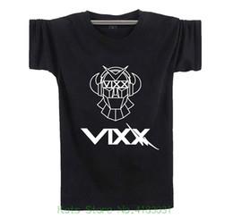 Fanstown Vixx Shirt Signature Black 2 Piezas de Lomo Cards Men Camiseta Cheap Sale 100% Cotton desde fabricantes