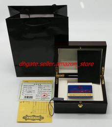 Часы наручные онлайн-2018 Новый высокое качество коробки бренд оригинальный часы коробка часы упаковка с брошюры карты vc коробка