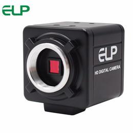 2019 câmera de montagem cs ELP MJPEG 30fps 1280 * 720 câmera usb sem lente CMOS OV9712 CS USB Mount câmera com cabo de 3 m desconto câmera de montagem cs