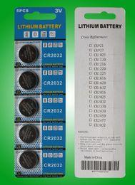 Deutschland Super Qualität CR2032 Knopfzellenbatterien 3V Lithium-Knopfzellen für Uhren LED-Leuchten Spielzeugwaagen Versorgung