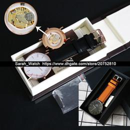 Argentina La mejor calidad 36mm 40mm Hombres Mujeres Reloj Blanco / Negro FACE Cuero / Nylon / Metal Reloj STRAP En el mismo enlace Suministro
