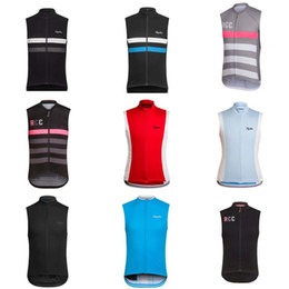 Wholesale Custom Cycling Jerseys - RAPHA team Cycling Sleeveless jersey Vest New Arrival sleeveless vest Can Choose any size color Accept custom cycling clothing 840704