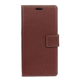 """Estojos de silicone para envio gratuito de iphone on-line-Lichee padrão carteira de couro pu leather phone case para iphone xs xs max xr 6.5 """"6.1"""" x 8 plus 8 7 plus 7 6 s 6 spl coldre frete grátis"""