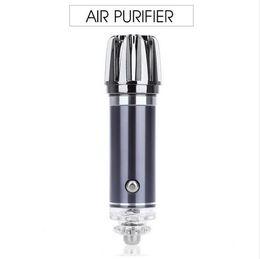 Canada Mi ni Purificateur d'Air Désodorisant 12 V Mini Auto Voiture Frais Air Purificateur Ionique Barre D'oxygène Ozone Ioniseur Cleaner 2018 Chaud Offre