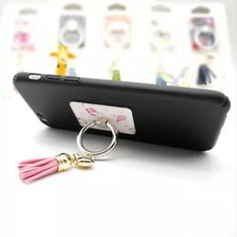 2019 симпатичный корейский мобильный телефон Симпатичный держатель для мобильного телефона, корейская застежка на пальце, творческий мультяшный мобильный телефон, аксессуары с кисточками iphone дешево симпатичный корейский мобильный телефон