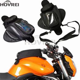 09268daf267 2019 mochilas de moto negro Magnetic Motorcycle Motorbike Tank Bag Black  Universal impermeable mochila bolsas de
