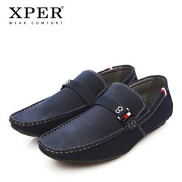 Wholesale Men Winter Loafers - Men Shoes NEW Men Loafers Summer Cool Autumn Winter Men's Flats Shoes Low Man Casual Sapatos Tenis Masculino XPER