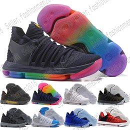 e183ff649e90 ... top quality with box correct version kd 10 ep basketball shoes top  quality kevin durant x