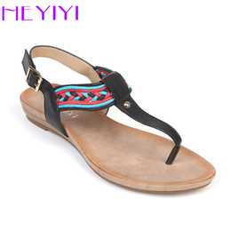 f0d89a6a859033 Flats Sandals Shoes for Women Summer Flip Flop Narrow Band Thong Toe Beach  Soft Casual Comfortable Buckle Strap Ladies Sandal Shoes