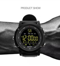 stoppuhr kinder Rabatt Mode EX17 Sport Smart Watch IP67 wasserdichte Pedometer Stoppuhr Smartwatch Bluetooth 4.0 Nachricht Erinnerung für Android IOS Smartphones