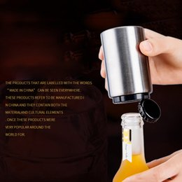 Wholesale Bars Accessories - Stainless Steel Beer Bottle Openers Automatic Bottle Openers Beer Wine Bottle Opener Kitchen Bar Tools Accessories 3002060