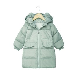 Quality 2019 New Style Baby Girls Jacket 2018 Autumn Winter Jacket For Girls Coat Kids Warm Hooded Outerwear Coat For Boys Jacket Children Clothes Superior In