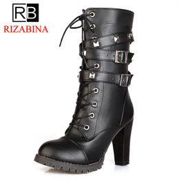 f34e13d3fae9 Shoes Woman Ladies Shoes Chaussure Femme Women Boots Half Boots Bota Riding  Casual Ladies Martin Size 34-39
