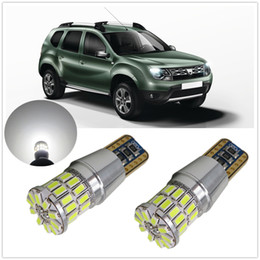 Wholesale Focus Ford Fusion - WLJH Canbus Car LED T10 W5W LED Parking Light For Ford Focus 2 1 Fiesta Mondeo 4 3 Transit Fusion Kuga Ranger Mustang