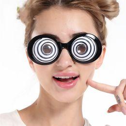 Wholesale eyeball glasses - Funny Glasses Circles Cartoon Eyeball Design Novelty Eyeglasses For Horrible Halloween Evening Party Decoration Props High Quality 7 5sfc Z