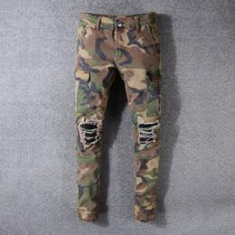 più jeans designer di dimensioni Sconti 2018 nuovi famosi jeans da uomo di marca jeans di alta qualità in cotone strappato jeans moda street biker uomo più taglia