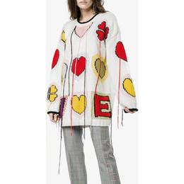 Один свободный цвет осень и зима Женские свитера,хорошая любовь и кисточкой стиль,с длинным рукавом,круглый вырез от