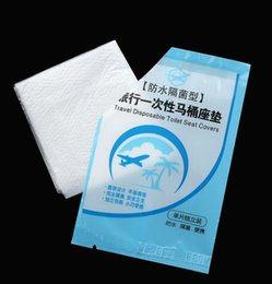 Wholesale Disposable Paper Toilet Seat Covers - Disposable Toilet Seat Cover Mat Closetool Pad Waterproof Toilet Paper Pad For Travel Camping Hotel Business Trip Bathroom Accessiories