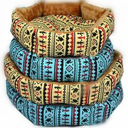 Wholesale Blue Dog Kennels - Fleece Small Pet Dog Bed Sleep Warm Teddy Cat Puppy Soft Blanket Mat Fall Winter Warm Kennel