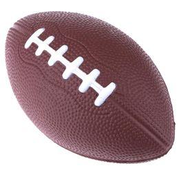 Wholesale Foam Soccer Balls - Football & Rugby Soft Standard PU Foam American Football Soccer ball Rugby Squeeze Ball Kids Adults bola de futebol americano