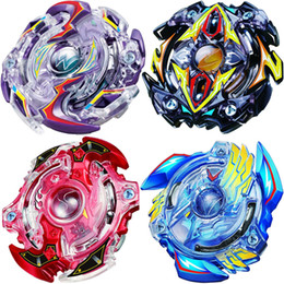 Wholesale Beyblade Metal Fight Launcher - Beyblade Metal Funsion 4D B34 B35 B41 B73 With Launcher And Handle Spinning Top Classic Toy Fighting Gyro