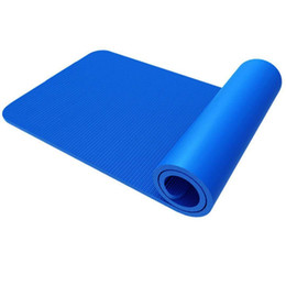 2019 doble tapete de yoga Fine Quality Yoga Mat 183 * 61 Engrosamiento Protección del Medio Ambiente Dance Motion Pad Non Slip Folding Play Mats 19 5yl Ww doble tapete de yoga baratos