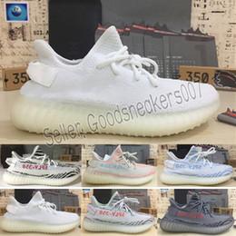 online store 7067c bf01a 2018 Originals Adidas yeezy Venta al por mayor Hombres Boost 350 V2 Sply 350  Kanye West Zapatos Mujeres Zapatillas Deportes Zapatillas Hombre SPLY-350  Con ...