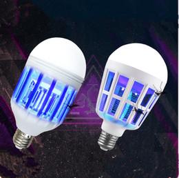 eco a mené des ampoules Promotion Lampe de tueur de moustique d'ampoule de LED de 2 dans 1 15W