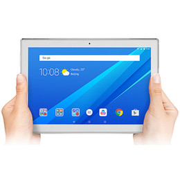 tabletas 2g ram Rebajas Lenovo Tab4 10.0 pulgadas TAB 4 X304F / X304N Android 7.1 Wifi / LTE 2G RAM 16G ROM 1280x800 IPS lenovo tab4 10 tablet PC