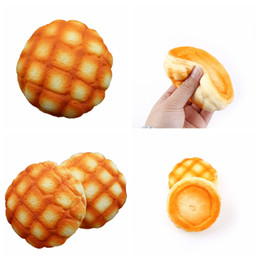 Wholesale Pineapple Bread - 10CM Jumbo Colossal Pineapple Bread Squishy Super Slow Rising Phone Strap Stretchy Scented Toy Eric Kiibru squishies collection YYA1036