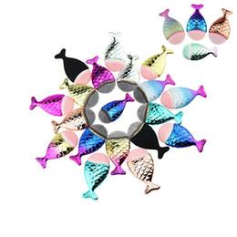Brosses de maquillage les plus vendues en Ligne-Meilleure vente de produits de maquillage beauté 5 couleurs pour choisir la poignée de poisson sirène cosmétiques pinceaux de maquillage ensemble