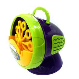 Bolle di sapone di salto della bolla di plastica verde automatica della bolla delle bolle Giocattoli del bambino da confezioni per animali domestici fornitori