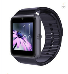 großhandel uhr telefon billig Rabatt Beste Smart Uhr GT08 Clock Sync Notifier Unterstützung Sim TF Karte Bluetooth Connectivity Smartwatch Drop Shipping