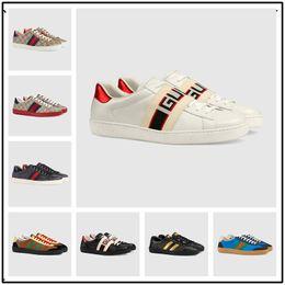 promo code 2973e 3c3db 2018 Promociones de Descuento Nueva Alta Calidad de Cuero Genuino para  Hombre Zapatos Casuales Planos Hi-Top Sneakers Negro Blanco Cabeza de Tigre  Patrón de ...