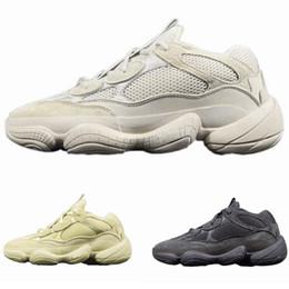 2018 New Wave Runner 500 Erröten Desert Rat 500 Super Mond Gelb Laufschuhe Kanye West Herren Damen Sneaker Sportschuhe von Fabrikanten