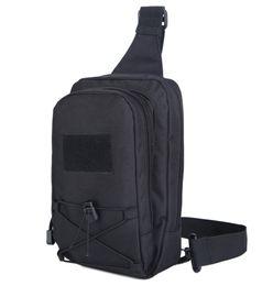 Argentina Hombres Duradera Nylon Single Back Pack Cross Body Bag Viajes Assualt Small Sling Knapsack Shoulder Messenger Bags New Suministro
