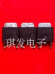 Efeito transistor original on-line-O uso usado original do MOSFET do transistor de campo-efeito 2SJ599 J599 TO-252 teste aprovado