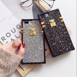 Wholesale Bling For Cellphones - Metal Phone Case For iPhone 7 Resistance to Fall Bling cellphone case For iphone 6s 8 8plus X Protective shell