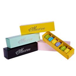 250 teile / los hause macaron schwarz blau grün macaron box keks Muffin box Schublade typ papier box IB730 von Fabrikanten