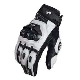 Wholesale Cooler Atv - Hot selling Cool motorcycle gloves moto racing gloves knight leather ride bike driving BMX ATV MTB bicycle cycling Motorbike freeshipping