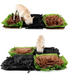 bolas de papel animal Desconto Pet Snuffle Mat nosework Blanket Dog Training Dog Mats alimentação Mat Gostoso Mat Toy trabalho do nariz para liberar o estresse