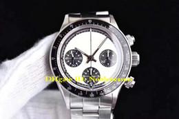 Vigilanza della mano per lusso degli uomini online-Uomini di lusso Top Quality 38mm 6263 Vintage Paul Newman Cosmograph ETA 7750 Movimento Cronografo meccanico a carica manuale Orologi da uomo