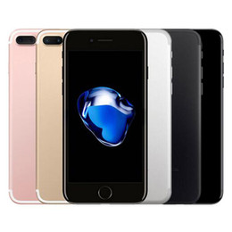 Argentina Huella digital original restaurada Apple iPhone 7 Plus 5.5 pulgadas iOS 10 3GB RAM 32/128 / 256GB ROM Quad Core 12MP 4G LTE Teléfono inteligente DHL 1pcs Suministro